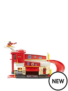 fireman-sam-die-cast-firestation-playset