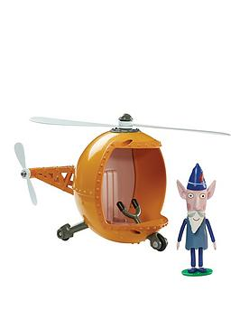 ben-hollys-little-kingdom-wise-old-elfs-helicopter-with-wise-old-elf-figure
