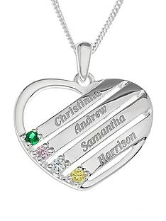 sterling-silver-personalised-gem-set-heart-pendant