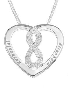 love-silver-sterling-silver-personalised-diamond-set-infinity-heart-pendant