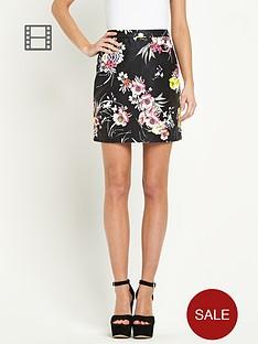river-island-floral-printed-pu-mini-skirt