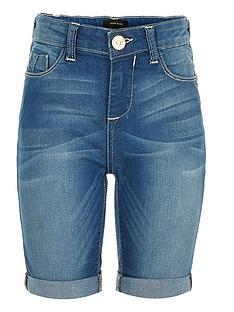 river-island-girls-alex-mid-wash-knee-denim-shorts