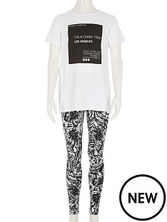 river-island-girls-monochrome-t-shirt-and-palm-print-leggings-2-piece