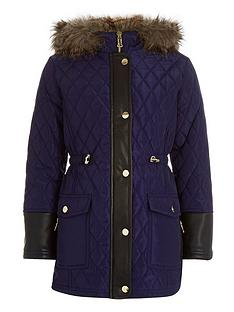 river-island-girls-longline-padded-parka