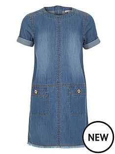 river-island-girls-denim-shift-dress