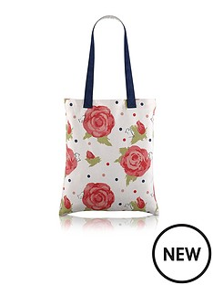 radley-autumn-rose-canvas-tote-bag