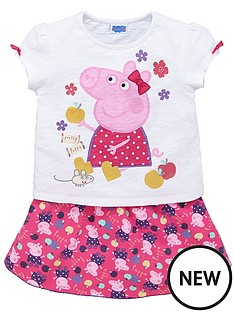 peppa-pig-skirt-set