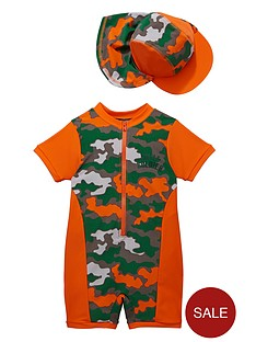 ladybird-toddler-boys-moustache-camo-sunsafe-and-hat
