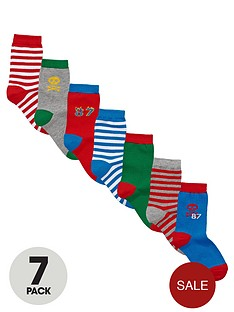 ladybird-fashion-socks-7-pack