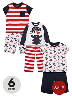 ladybird-boys-6-piece-pirate-pyjama-set