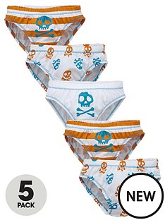 ladybird-toddler-boys-skull-print-briefs-5-pack