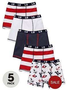 ladybird-boys-pirate-print-trunks-3-pack