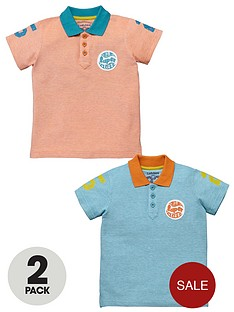 ladybird-birdseye-polo-tops-2-pack