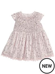 mamas-papas-pin-tuck-print-dress