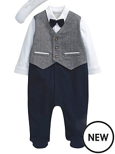 mamas-papas-mock-waistcoat-all-in-one