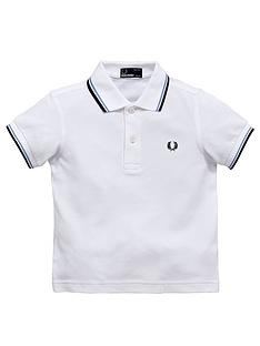 fred-perry-boys-tipped-polo-shirt
