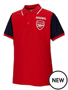 arsenal-junior-contrast-polo-top