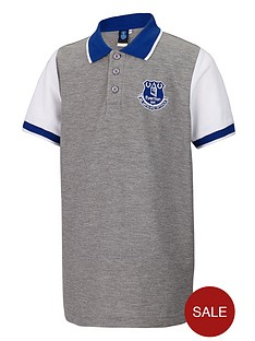 everton-junior-contrast-polo-top