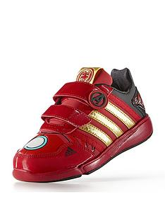 adidas-disney-avengers-lo-cf-junior-iron-man-trainers