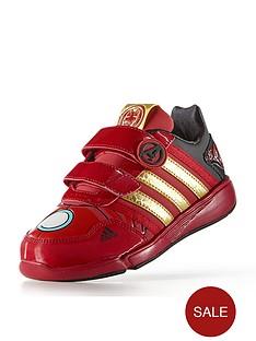 adidas-disney-avengers-lo-cf-junior-iron-man-trainers