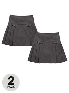 top-class-girls-permanent-pleat-kilt-skirts-2-pack