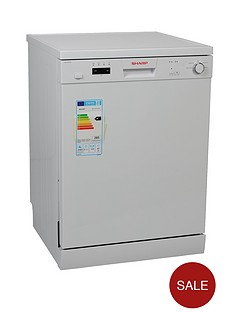 sharp-qw-c13f471w-12-place-dishwasher-white