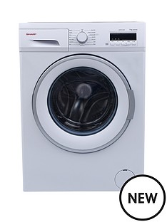 sharp-es-fb7124w2-7kg-load-1200-spin-washing-machine-white