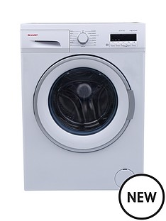 sharp-es-fb7144w3-7kg-load-1400-spin-washing-machine-white