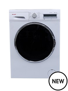 sharp-es-fc8144w3-8kg-load-1400-spin-washing-machine-white
