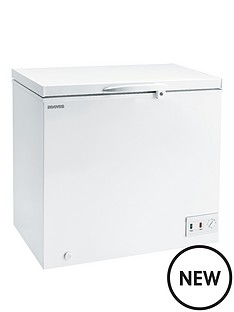 hoover-cche155-152-litre-chest-freezer-white