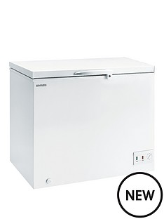 hoover-cche300-283-litre-chest-freezer-white