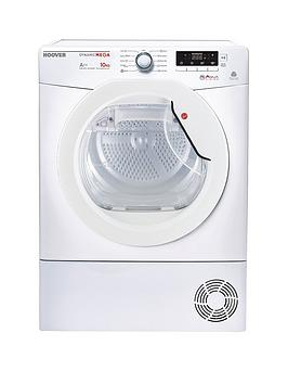 Hoover Dynamic DMHD1013A2 Heat Pump 10kg Sensor Tumble Dryer  White
