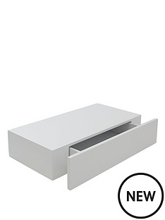 ohio-49cm-floating-shelf-with-drawer-white