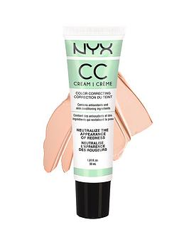 Nyx Professional Makeup Cc Cream 30Ml  Green  LightMedium