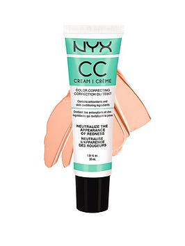 Nyx Professional Makeup Cc Cream 30Ml Green  MediumDeep