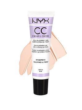 NYX CC Cream 30ml  Lavender  LightMedium
