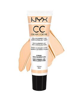 Nyx Professional Makeup Cc Cream 30Ml  Peach  LightMedium