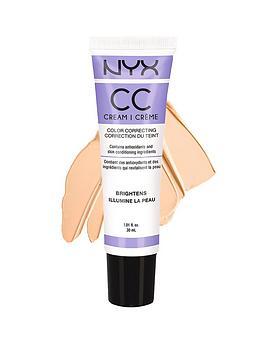 NYX CC Cream 30ml  Lavender  MediumDeep