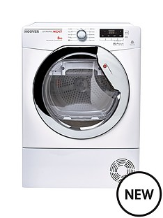 hoover-dncd813w-dynamic-8kg-aquavision-condenser-sensor-tumble-dryer-white
