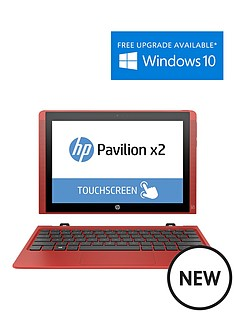 hp-x2-10-n002na-intelreg-atomtrade-processor-2gb-ram-32gb-ssd-storage-10-inch-touchscreen-2-in-1-laptop-with-optional-microsoft-office-365-personal-sunset-red