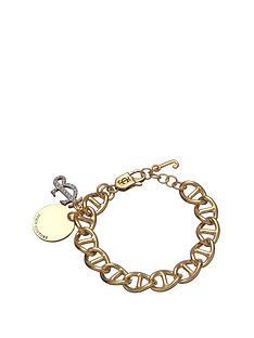 juicy-couture-gold-tone-crystal-set-link-disc-bracelet