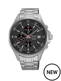 seiko-black-dial-quartz-chronograph-stainless-steel-bracelet-mens-watch