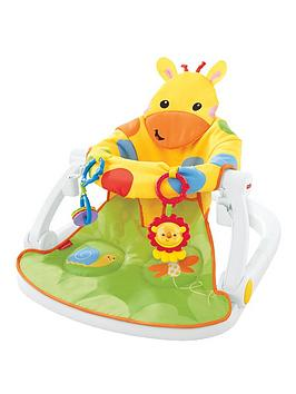 FisherPrice Giraffe SitMeUp Floor Seat With Tray