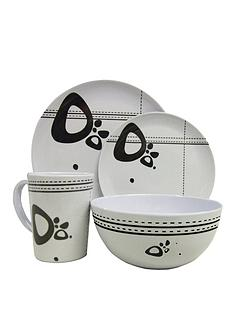 streetwize-accessories-16-piece-melamine-dining-set