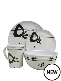 streetwize-accessories-16-piece-melamine-dining-set