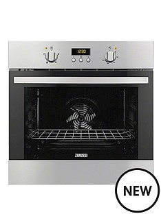 zanussi-zob35361xk-60-cm-built-in-single-electric-oven-stainless-steel
