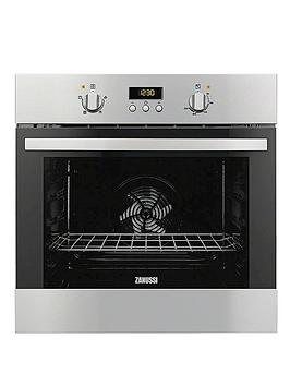 Zanussi Zob35361Xk 60Cm BuiltIn Single Electric Oven  Stainless Steel