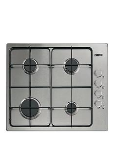 zanussi-zgg62444sa-60-cm-built-in-gas-hob-stainless-steel