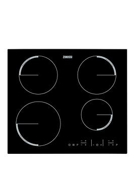 Zanussi Zel6640Fba 60Cm BuiltIn Electric Hob  Black