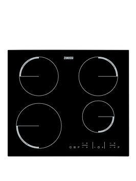 Zanussi Zel6640Fba 60Cm BuiltIn Electric Hob  Black